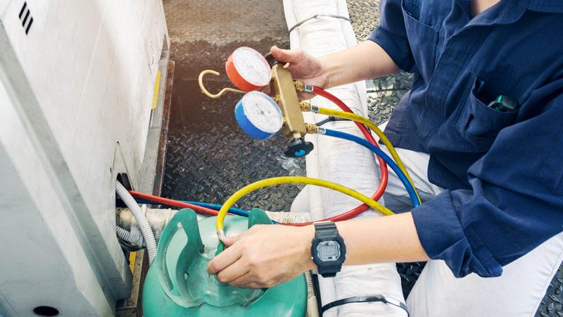 Manipulació de gasos fluorats