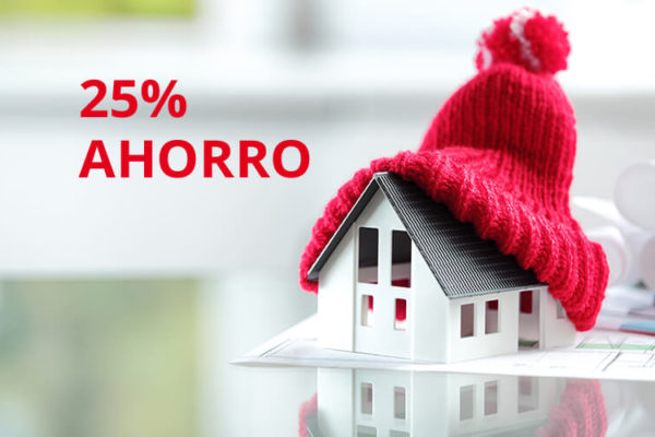 ahorra hasta un 25%
